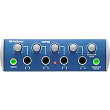Open Box PreSonus HP4 Discrete 4-Channel Headphone Amp