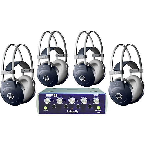 AKG HP4/K77 Headphone Four Pack