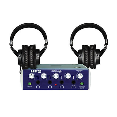 Presonus HP4 TH-200X Headphone Package