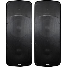 Gemini HPS-215BLU Dual 15 D-Class Powered Speaker Pair