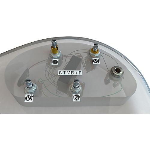 Bartolini HR-4.6AP/918 3-Band NTMB+F Preamp, 4 Pots