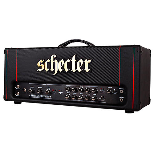 Schecter Guitar Research HR100-H Hellraiser USA 100W Tube Guitar Amp Head