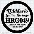 D'Addario HRG049 Half Round Electric Guitar String thumbnail