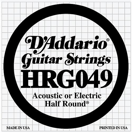 D'Addario HRG049 Half Round Electric Guitar String