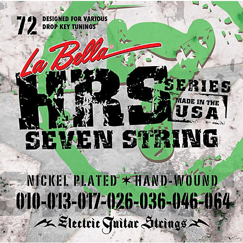 LaBella HRS-72 7-String Electric Guitar Strings
