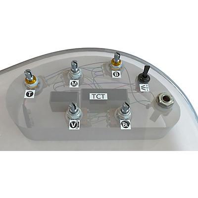 Bartolini HRTCT-5.4AP/918 - 3-Band TCT Preamp, 5 Pots, 1 Toggle (Burbank Era Preamp & Harness)