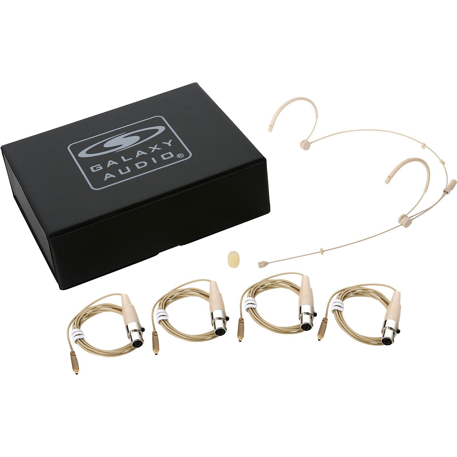 Galaxy Audio HSM3 Dual Ear Headset Microphone for Galaxy Audio/AKG Systems