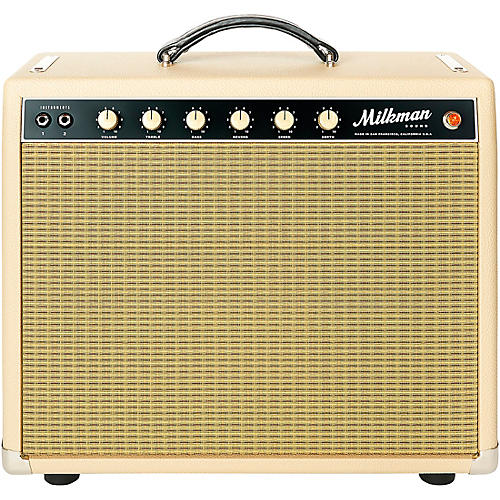 Milkman Sound HT15 15W 1x12 Tube Guitar Combo Amp Vanilla 12