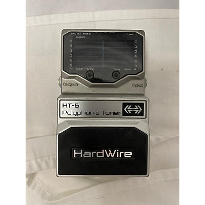 Digitech HT6 Hardwire Chromatic Tuner Tuner Pedal