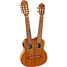 Ortega HYDRA Double Neck 4-String & 8-String Tenor Acoustic-Electric Ukulele