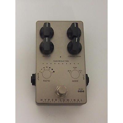 Darkglass HYPER LUMINAL HYBRID COMPRESSOR Bass Effect Pedal