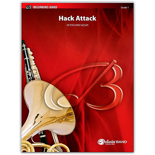 Alfred Hack Attack Concert Band Grade 1 Set