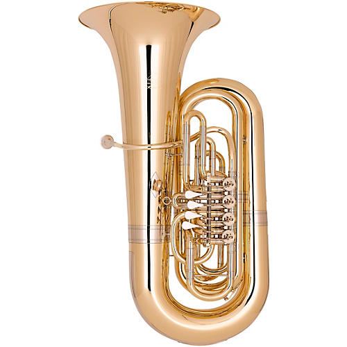 Miraphone Hagen 496 Series 4-Valve 5/4 BBb Tuba Gold Brass Lacquer