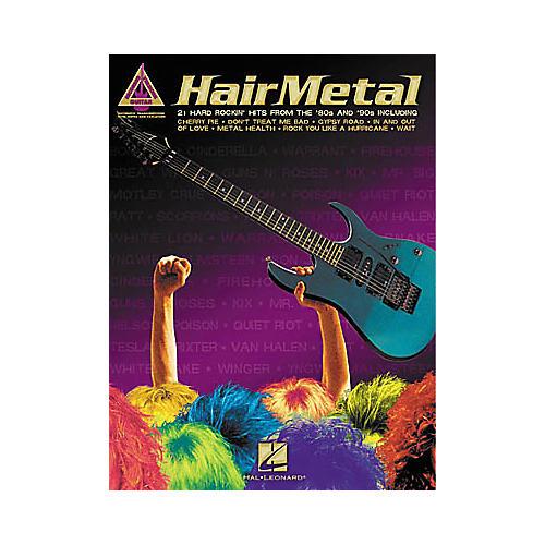 Hal Leonard Hair Metal Guitar Tab Book
