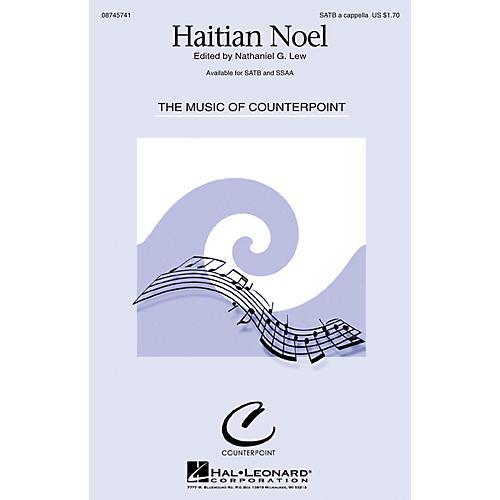 Hal Leonard Haitian Noel SATB a cappella