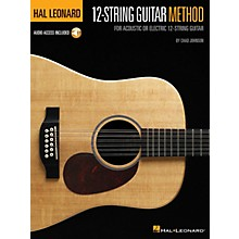 Hal Leonard Hal Leonard 12-String Guitar Method For Acoustic or Electric 12-String Guitar Book/ Audio Online