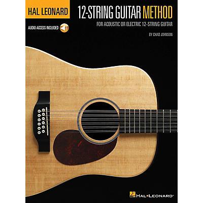 Hal Leonard Hal Leonard 12-String Guitar Method For Acoustic or Electric 12-String Guitar Book/ Audio Online