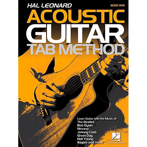 Hal Leonard Hal Leonard Acoustic Guitar Tab Method Book 1 (Book Only)