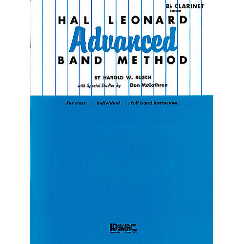 Hal Leonard Hal Leonard Advanced Band Method (B-flat Tenor Saxophone) Advanced Band Method Series by Harold W. Rusch