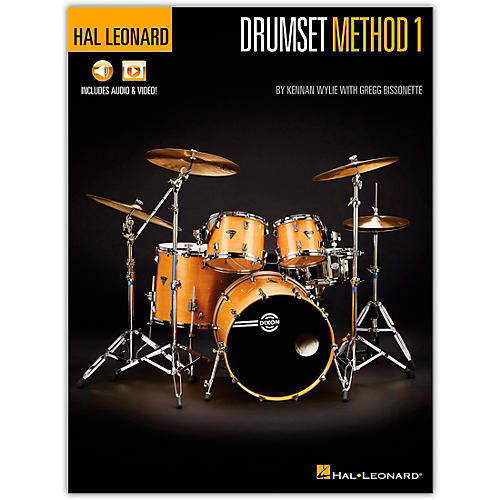 Hal Leonard Hal Leonard Drumset Method - Book 1  Book/Media Online
