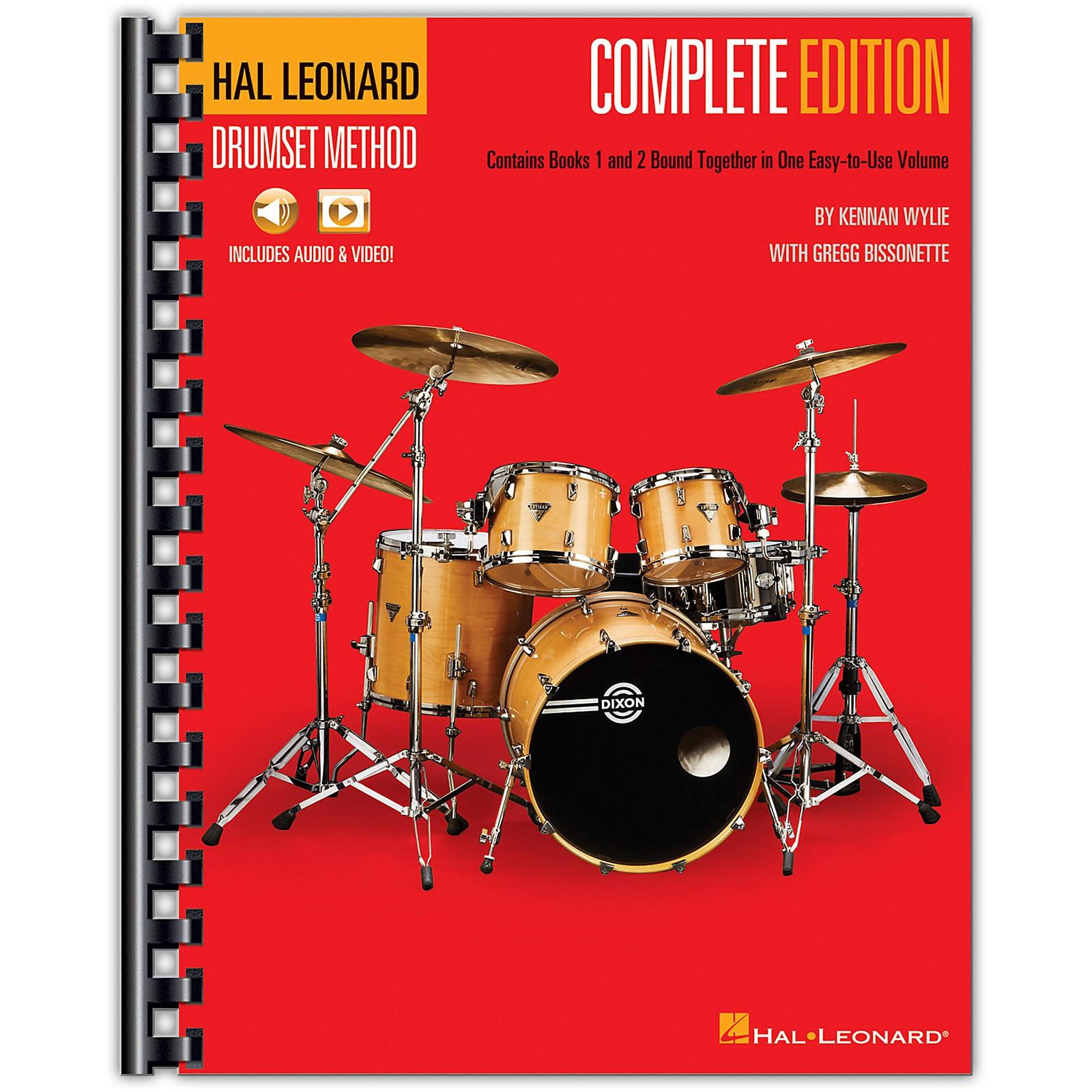 Hal Leonard Hal Leonard Drumset Method - Complete Edition Books 1 & 2 with Video and Audio