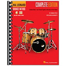 Hal Leonard Hal Leonard Drumset Method - Complete Edition Books 1 & 2 with Video and Audio