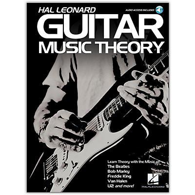 Hal Leonard Hal Leonard Guitar Music Theory Book/Audio Online with Guitar Tab