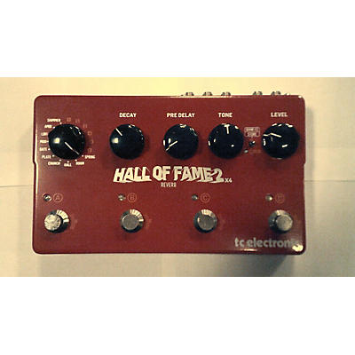 TC Electronic Hall Of Fame 2x4 Reverb Effect Pedal