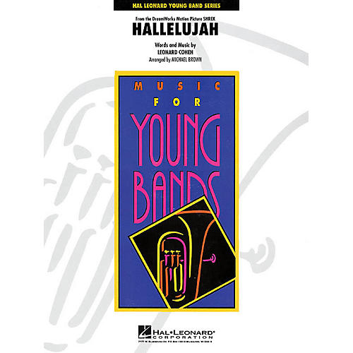 Hal Leonard Hallelujah - Young Concert Band Series Level 3 arranged by Michael Brown