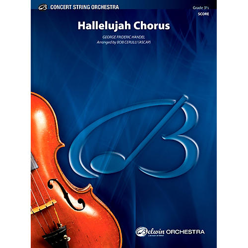 Alfred Hallelujah Chorus Concert String Orchestra Grade 3.5 Set