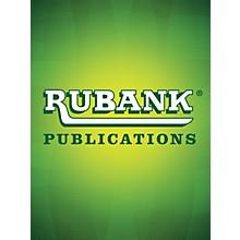 Rubank Publications Hallelujah Chorus Piano Series Arranged by Clair W. Johnson
