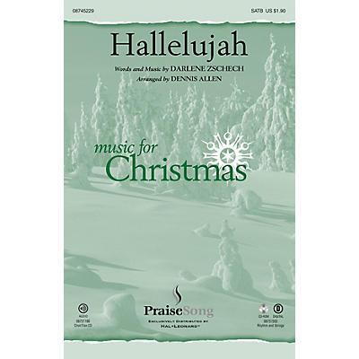PraiseSong Hallelujah SATB by Darlene Zschech arranged by Dennis Allen