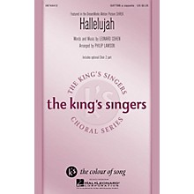 Hal Leonard Hallelujah SATTBB A Cappella by The King's Singers arranged by Philip Lawson