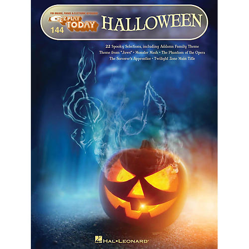 Hal Leonard Halloween E-Z Play Today Volume 144