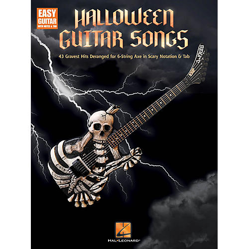 Hal Leonard Halloween Guitar Songs Easy Guitar Series Softcover Performed by Various