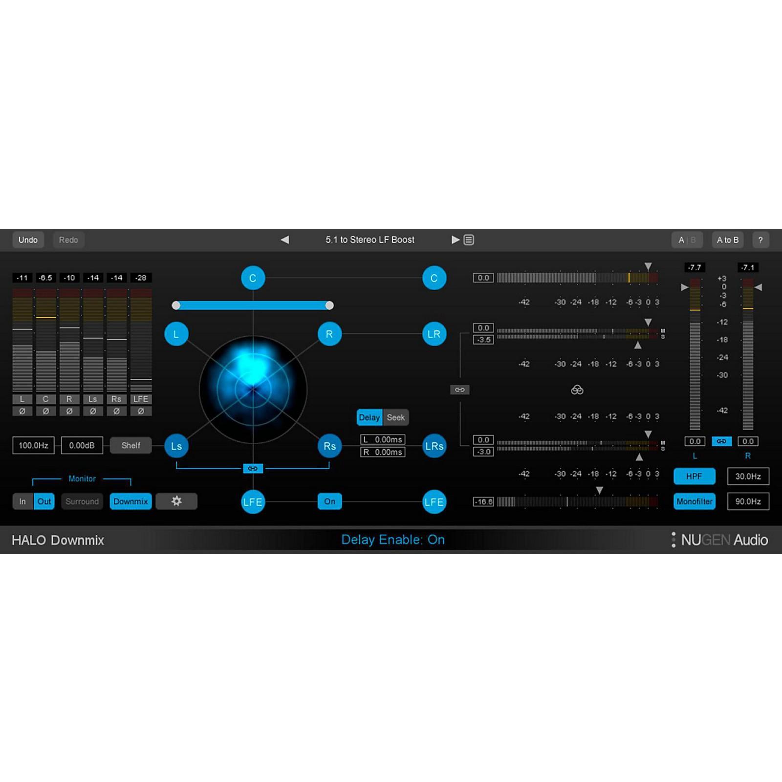NuGen Audio Halo Downmix