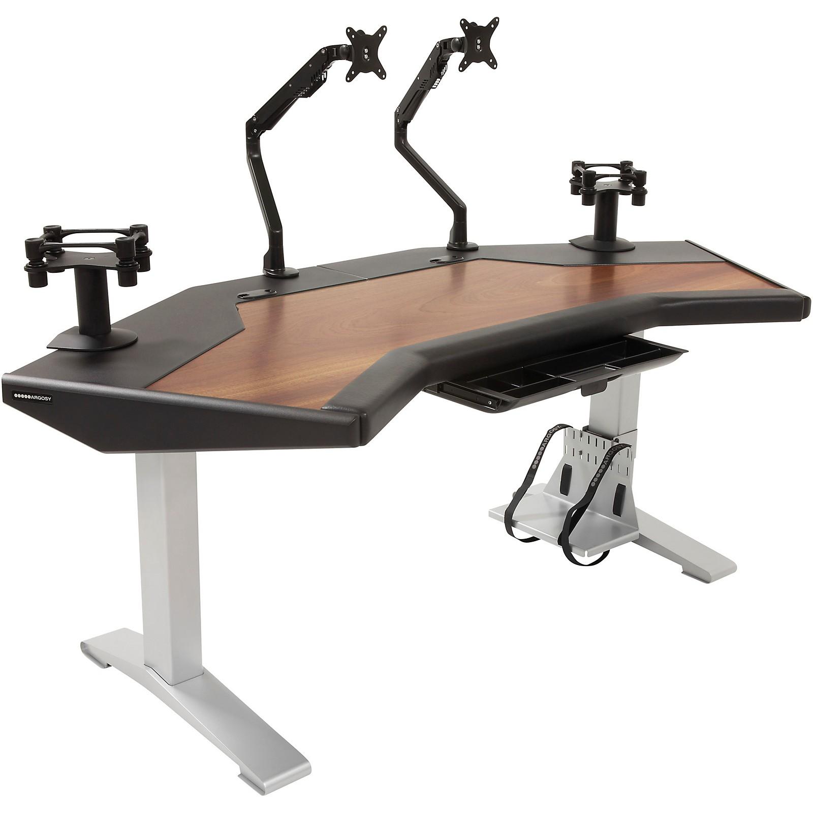 Argosy Halo G XC Ultimate Desk with Mahogany Surface