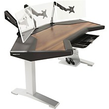 Argosy Halo G XM Ultimate Desk with Mahogany Surface