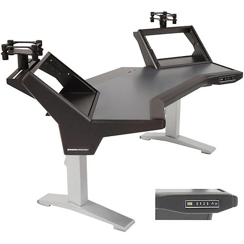 Argosy Halo Height Adjustable Plus (Includes Halo, 2 rack shelves, & Set of Speaker Platforms)