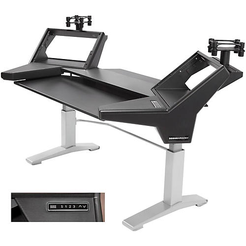 Argosy Halo Keyboard Height Adj. Plus (Includes Halo Keyboard, 2 rack shelves, & Set of Speaker Platforms)