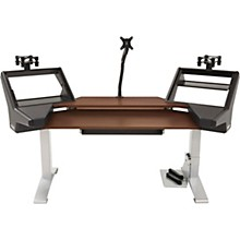 Argosy Halo Keyboard XC Ultimate Desk with Mahogany Surface