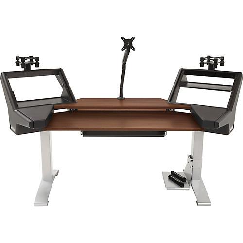 Argosy Halo Keyboard XC Ultimate Desk with Mahogany Surface