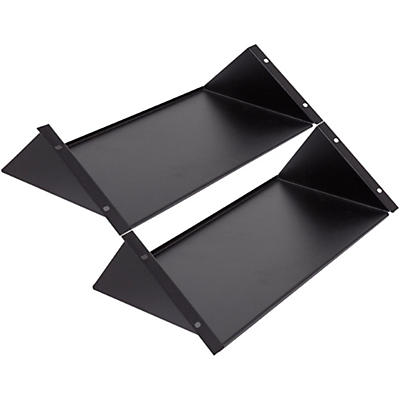 Argosy Halo Rack Shelf - Black - Set of 2