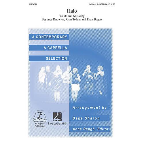 Hal Leonard Halo SATB DV A Cappella arranged by Deke Sharon