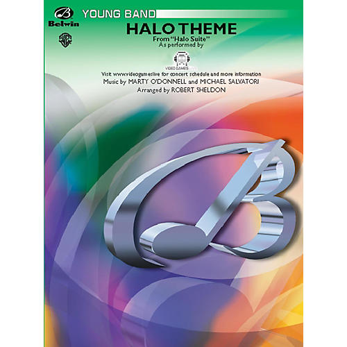 Alfred Halo Theme (from Halo Suite) Grade 2 (Easy)