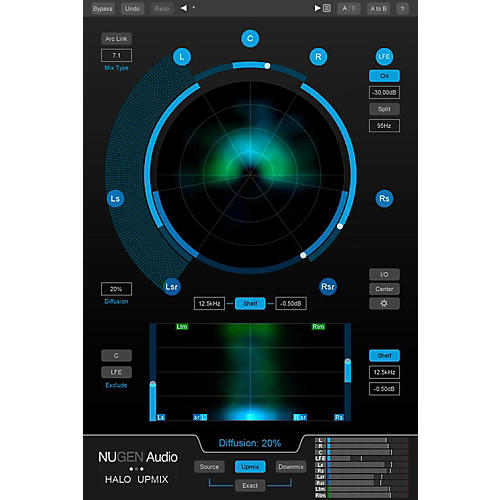 NuGen Audio Halo Upmix with 9.1 Extension