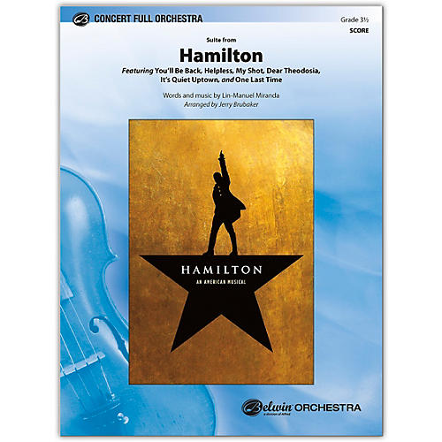 BELWIN Hamilton, Suite from Conductor Score 3.5
