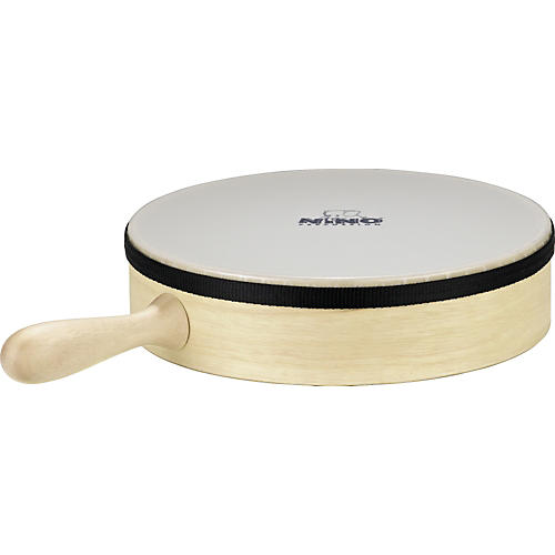 Nino Hand Drum with Handle Natural 10 in.
