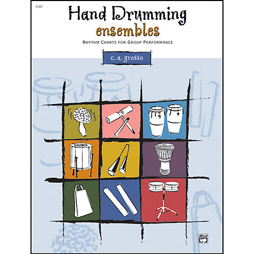 Alfred Hand Drumming Ensembles Book