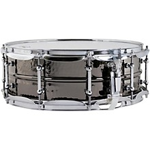 Open Box Ludwig Hand Hammered Black Beauty Snare Drum with Tube Style Lugs
